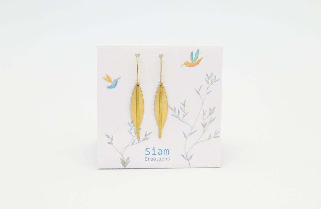 Siam Créations bijoux boucles d'oreilles - Isia